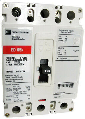 EHD2015L Cutler-Hammer EHD2015 Certified Reconditioned Eaton