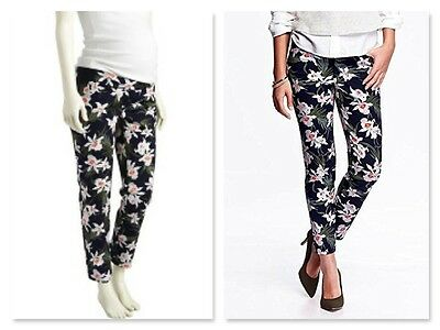 New Old Navy The Pixie Side Panel Chinos Size 18 floral