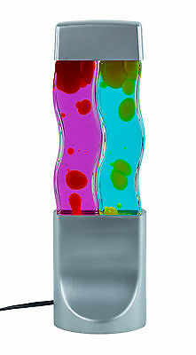 Twin Multi-Colored Novelty Party Lava Lamp Psychedelic Light