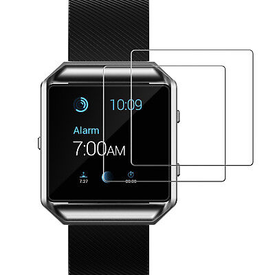 JETech 0940 2-Pack Fitbit Blaze Watch Screen Protector Tempered Glass Film