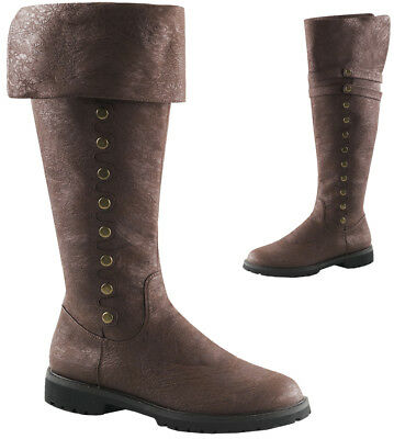 Gotham Brown Steampunk Adult Costume Boots Shoes,