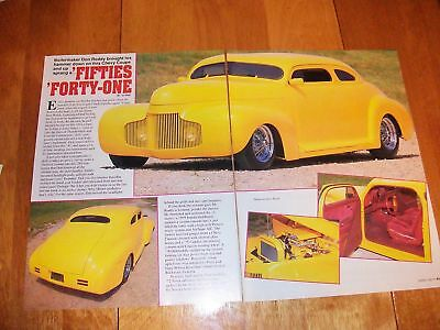 Original 1941 chevy Coupe Custom article