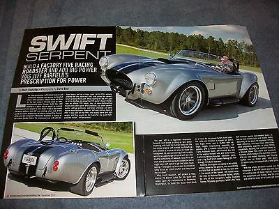 "1965 Shelby Cobra Factory Five Racing Article ""Swift Serpent"" Turbo"