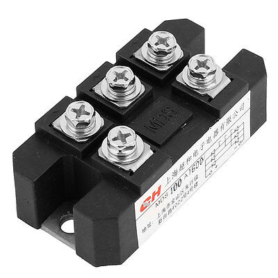 1600V 100A 5 Screw Terminals Three Phase Bridge Rectifier Diode Module MDS100A