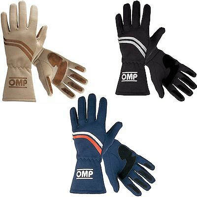 OMP Dijon Historic / Classic Racing / Race Gloves - FIA Approved (IB/746)