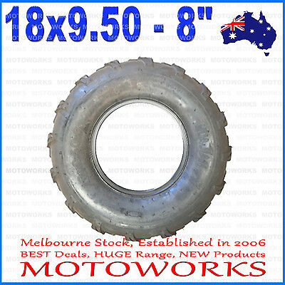 "18 x 9.50 - 8"" Inch Rear Tyre Tire 125cc 150cc 250cc ATV Quad Buggy Go kart Bike"