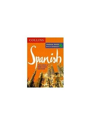 Collins Spanish Phrase Book and Dictionary by Collins UK Paperback Book The