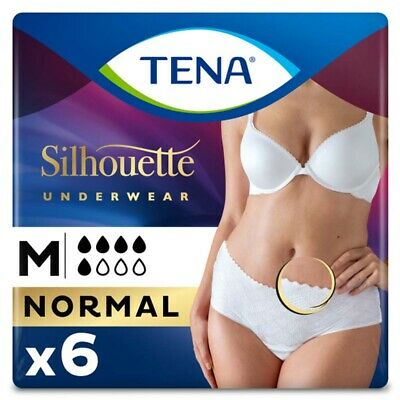 TENA Lady Pants Discreet - Medium (70cm - 100cm) - Pack of 6