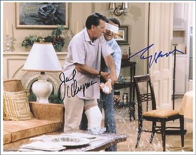 The Odd Couple Tv Cast - Inscribed Photograph Signed With Co-Signers