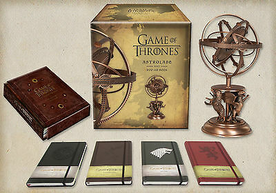 Game of Thrones Astrolabe and Pop-Up Book Insight Collectibles Super Rare New