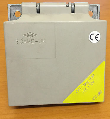 Scame UK 2065-DR Socket SPR Flap 15A 110v 2P E IP55