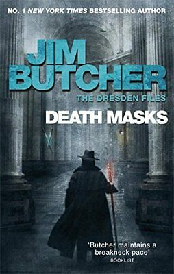 Death Masks: Book Five of The Dresden Files by Butcher, Jim