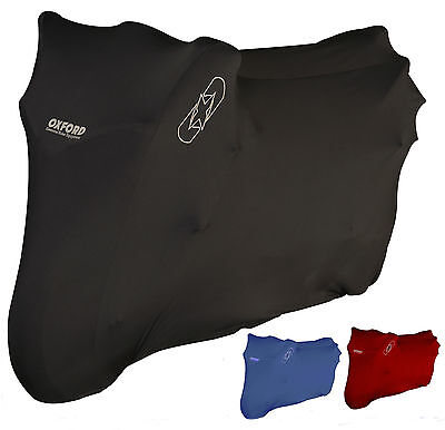Oxford Protex Premium Stretch Indoor Motorcycle Motorbike Dust Cover