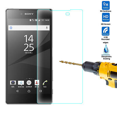 For Sony Xperia Experia Z5 Premium Real Tempered Glass Screen Protector Film