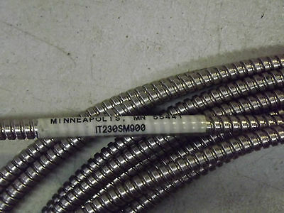 BANNER IT230SM900 #23884 Stainless Steel Fiber Optic Cable 30' 3.2mm High Temp