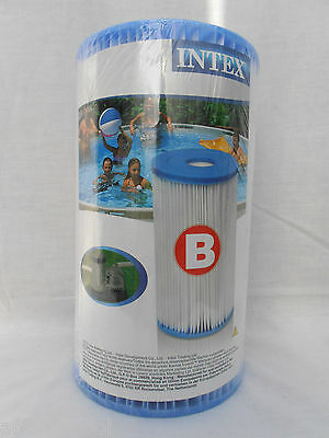Intex Type B Pool Filter. 29005 / 59905. Typically found with pools 18ft+