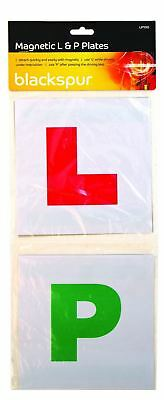 Magnetic Driver 2 x Learner & 2 x Pass Plates L & P Plates