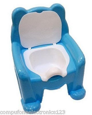 Kids Toddler Potty Training Chair Seat Removable Potty Lid - Easy Clean