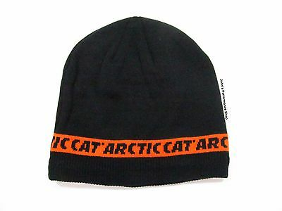 2017 Arctic Cat Men's Orange & Black Beanie Hat 5273-074