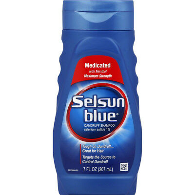 Selsun Blue Medicated Dandruff Shampoo 7 oz Each