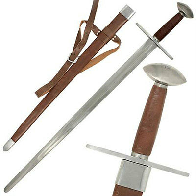The Conqueror 1066 Norman Arming Full Tang Tempered Battle Ready Handmade Sword