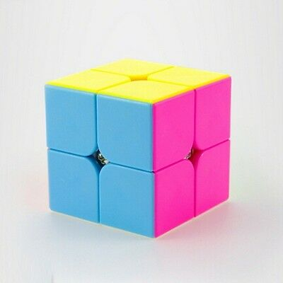 2x2x2 Domon Magic Cube Game Classic Speed Twist Puzzle Toy Game Kids Gift