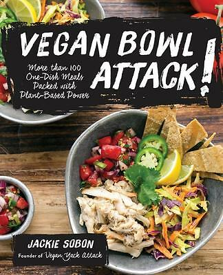 NEW Vegan Bowl Attack! By Jackie Sobon Paperback Free Shipping