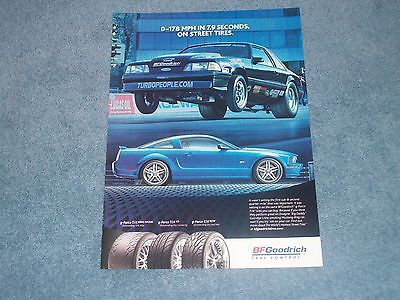 """2006 BFGoodrich Drag Radial Ad with Fox Body Mustang """"0-178 MPH in 7.9 Seconds"""""""