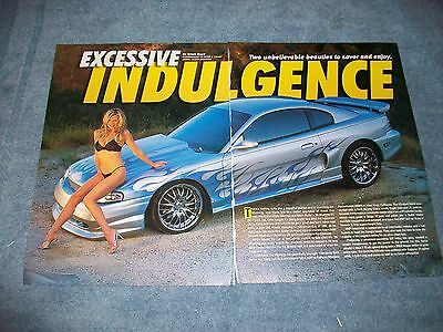 "1998 Ford Mustang GT Article ""Excessive Indulgence"" Vortech Supercharged"