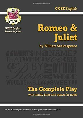 GCSE English Shakespeare Romeo and Juliet - The Complete..., CGP Books Paperback