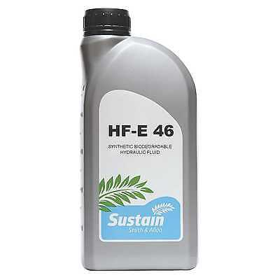 Sustain HF-E 46 Biodegradable Hydraulic Oil Fully Synthetic Ester ISO 46 1 Litre