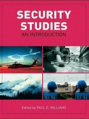 Security Studies: An Introduction Paperback Book The Cheap Fast Free Post