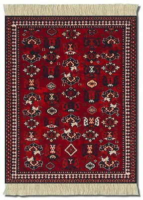 Mouserug Mouse Pad A De Young Early Turkmen Carpet Rug Oriental Rugs Fiberlok