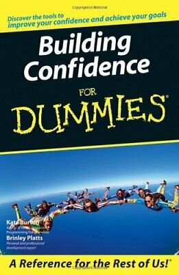 Building Self-Confidence For Dummies by Brinley Platts Paperback Book The Cheap