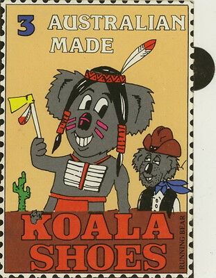 Vintage Australian Sticker: Koala Shoes