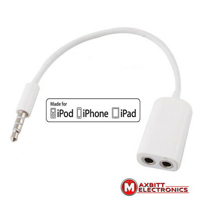 3.5mm Jack AUX Multi Headphone Splitter For Apple iPhone iPod iPad Mp3