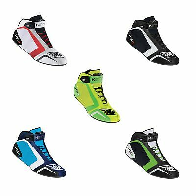 OMP KS-1 Slip Resistant Karting / Go Kart / Race Boots For Children / Adults