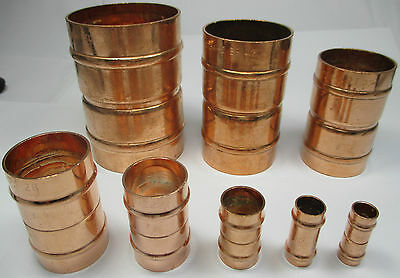 SOLDER RING REDUCING COUPLER COUPLING 8 10 15 22 28 35 42 54 mm COPPER PIPE