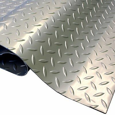 IncStores Diamond & Coin 7.5'x17' Garage Flooring Mat Car Trailer Floor Covering