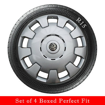 15 Inch Vauxhall Badged  Astra Meriva Corsa - Combo  Wheel Trims Set Of  4 New