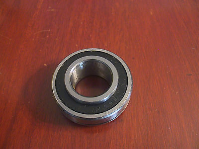 New 206KLL  Bearing  With Groove For Snap Ring If Needed  30mm x 62mm x 24mm