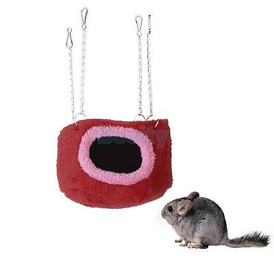 Cotton Hammock Cabin Hanging Bed Toy Squirrel Chinchilla Guinea Pig Rat S