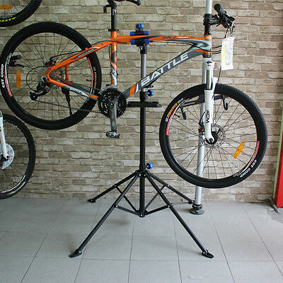 """41"""" To 75"""" Repair Stand Adjustable Pro Bike w/ Telescopic Arm Cycle Bicycle Rack"""