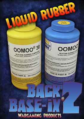 4 x Liquid Silicone Rubber Compound Smooth On Oomoo Trial Kits 5.2kg/11.2lbs