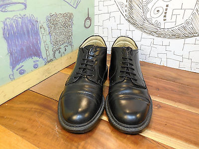 Aldo Black Leather Ankle Boots Men's EURO 41 US 8 #4938 Made in Italy