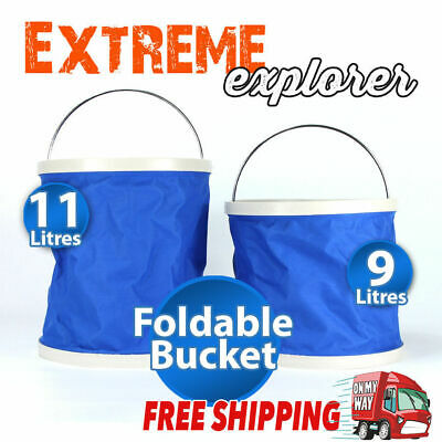 Hot Foldable Folding Retractable Collapsible Silicone Bucket Car Barrel Outdoor
