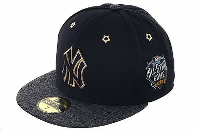 Official 2016 MLB All Star Game New York Yankees New Era 59FIFTY Fitted Hat d686adc89de1