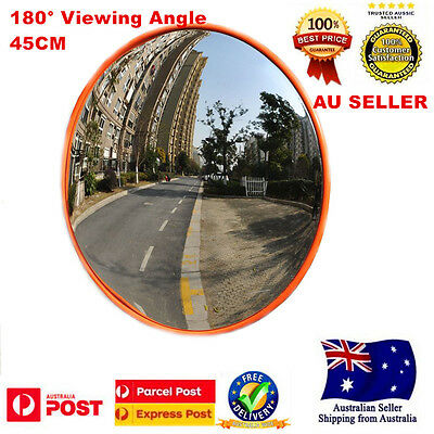 45CM Indoor Convex Safety Mirror 180° Viewing Angle For Traffic Shop Driveway