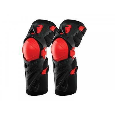 Thor Adults Force XP Hinged MX Motocross Offroad Enduro Knee Guards