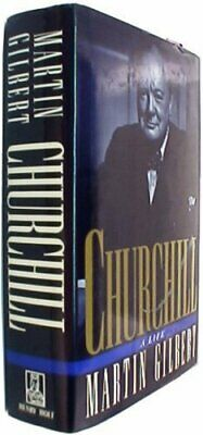 Churchill: A Life by Gilbert, Martin Hardback Book The Cheap Fast Free Post